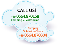 Contact our italian camping