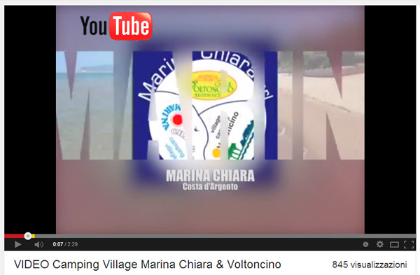 VIDEO CAMPING VILLAGE VOLTONCINO & MARINA CHIARA